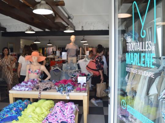 Les Trouvailles de Marlène est l'une des deux boutiques solidaires ouverte le 12 juin sur le site de la Ferme des Vanneaux.