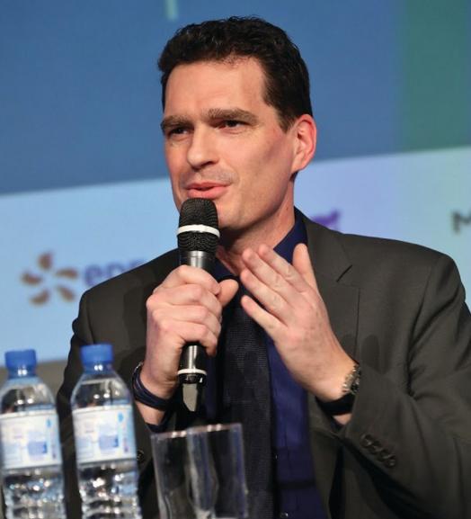 Mathias Povse, délégué régional et directeur commercial d'EDF Nord Ouest, devient le premier président de la Fondation du Nord.
