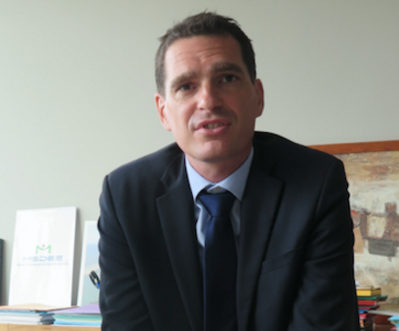 Mathias Povse, élu président de la nouvelle Fondation du Nord