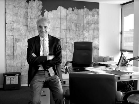 Le directeur de l'Agence de l'eau Artois-Picardie Bertrand Galtier.