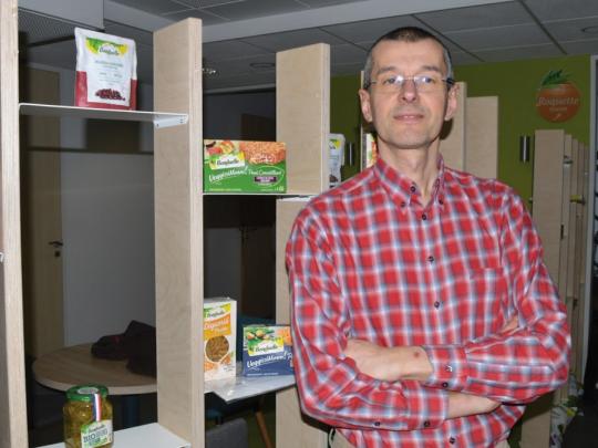 Patrick Lesueur, directeur R&D chez Bonduelle.