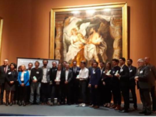 Les lauréats ont été récompensés lors d'une soirée au palais des beaux arts de Valenciennes