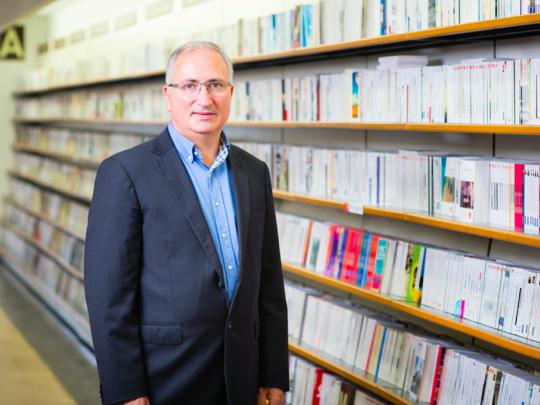 Pierre Coursières, dirigeant du Furet, ne cache pas l'appétit du groupe nordiste de poursuivre une politique d'acquisitions dans le monde des librairies indépendantes