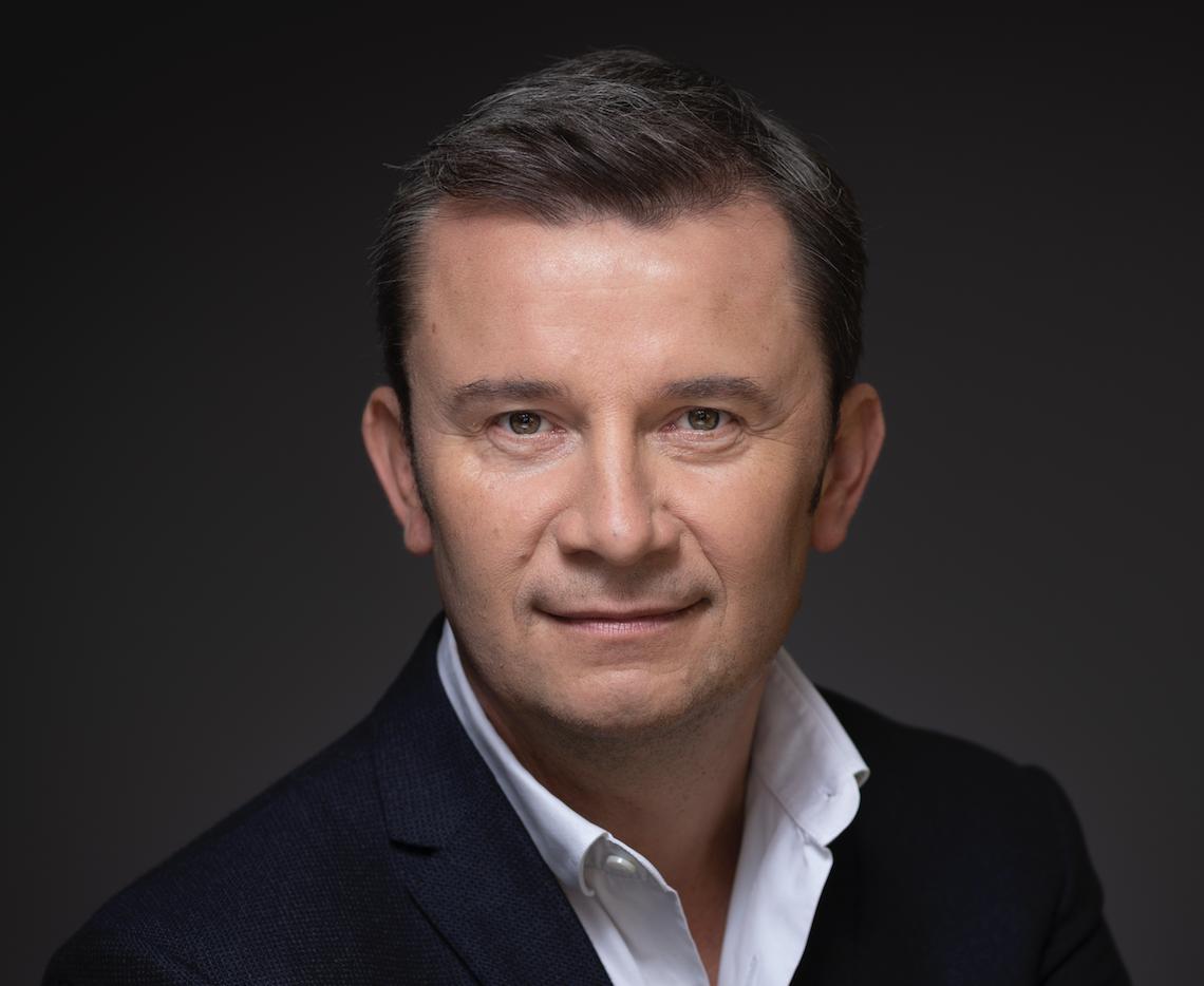 Christophe Levyfve, dirigeant du groupe de communication Netco Group.
