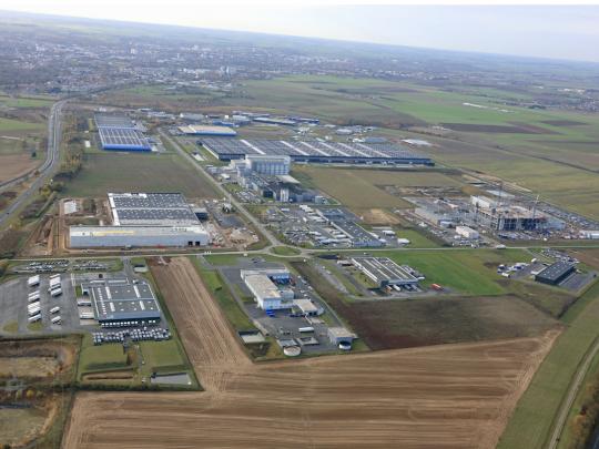 Kloosterboer est la 32eme entreprise , et la sixième à capitaux étrangers à s'implanter sur Actiparc