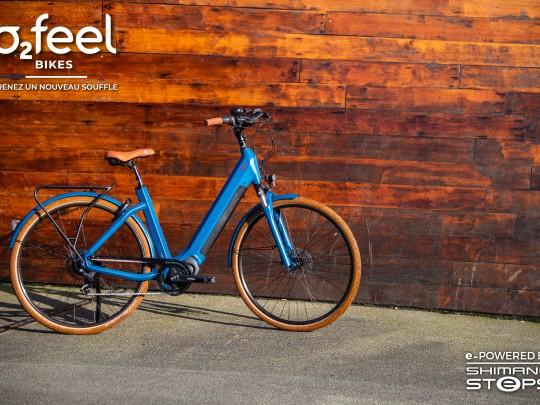 epuis sa création, o2feel a mis 50 000 vélos électriques en circulation. Crédit : O2feel