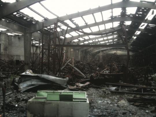 L'incendie de l'entreprise en 2009 a resserré les équipes autour de la reconstruction, raconte son dirigeant Eric Mériau