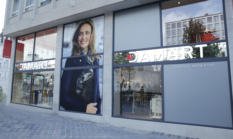 Damart repart de l'avant, avec une campagne TV et un ambitieux plan d'investissements.