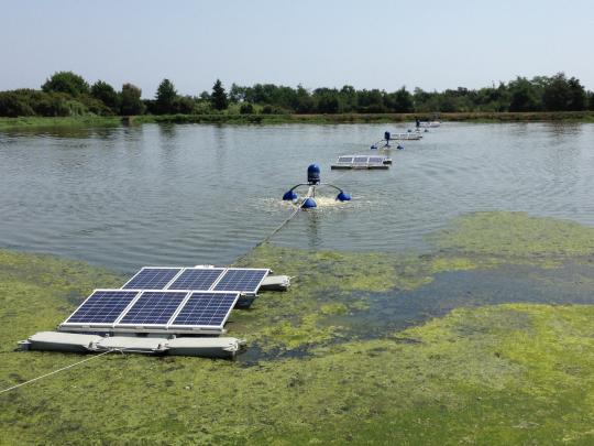 Toute une série d'entreprises spécialistes de l'eau déploient leurs savoir-faire dans la région, à l'exemple de Techsub, près d'Arras