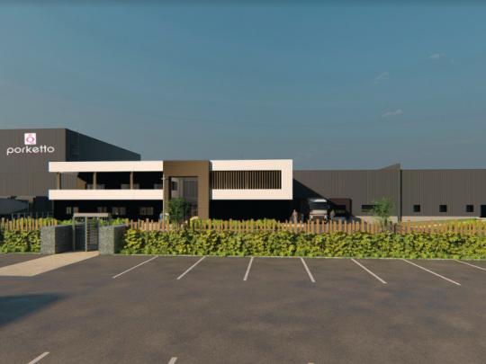 L'entreprise spécialisée dans la transformation de viande porcine investit 18 M€ dans une nouvelle usine à Wancourt.