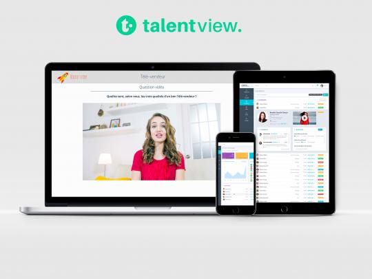 Créé en 2016, TalentView digitalise aujourd'hui les process de recrutement d'une soixantaine d'entreprises.