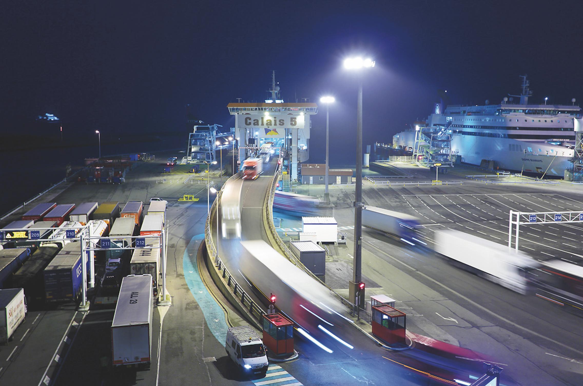 crédit port de Calais
