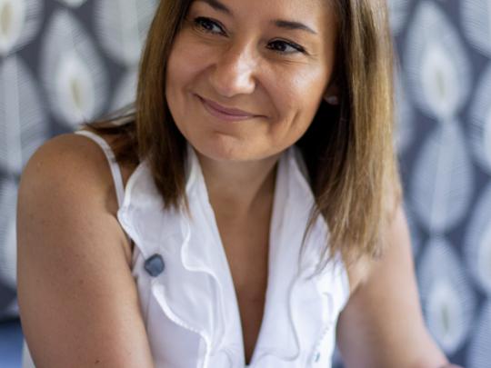 Priscilla Rossi a délibérément choisi de quitter la région parisienne pour rejoindre une des régions les plus emblématiques en terme d'emploi