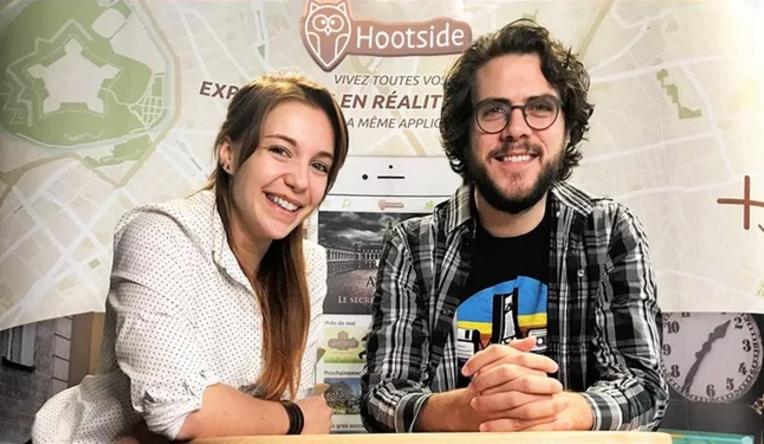 Hootside a été créé en 2017 par Charlotte Landry et Quentin Warnant.