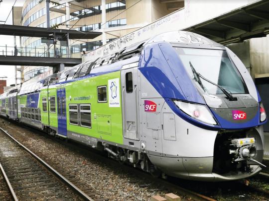En 2023, le conseil régional ouvrira à la concurrence 20% de son réseau ferroviaire. Une dizaine de nouveaux opérateurs de transports se sont déjà manifestés. Crédit Région Hauts-de-France