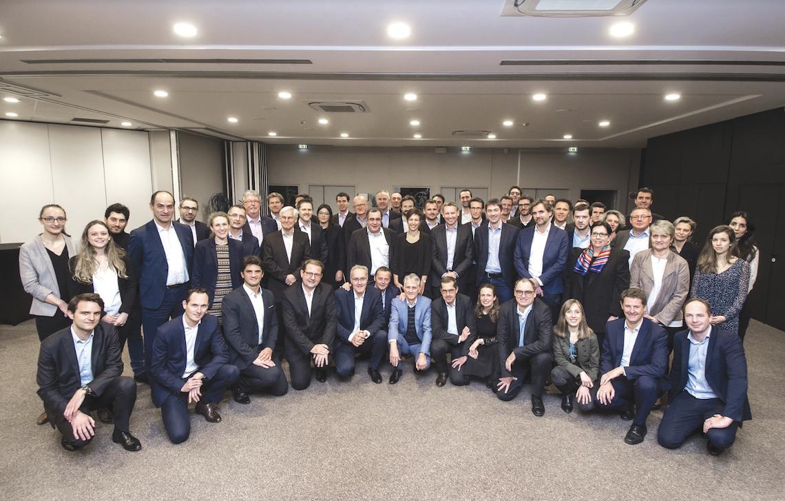 L'ensemble des acteurs s'est réuni en décembre 2019 à Entreprises & Cités. Le secteur n'a jamais été autant représenté. Crédit : Sébastien Jarry