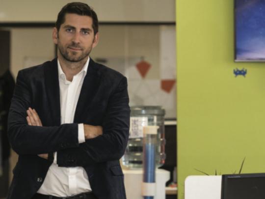 Mathieu Tarnus, Pdg et  fondateur de Sarbacane, il y a bientôt 20 ans. Il vise désormais le cap des 100 M€ d'activité à horizon 2025.