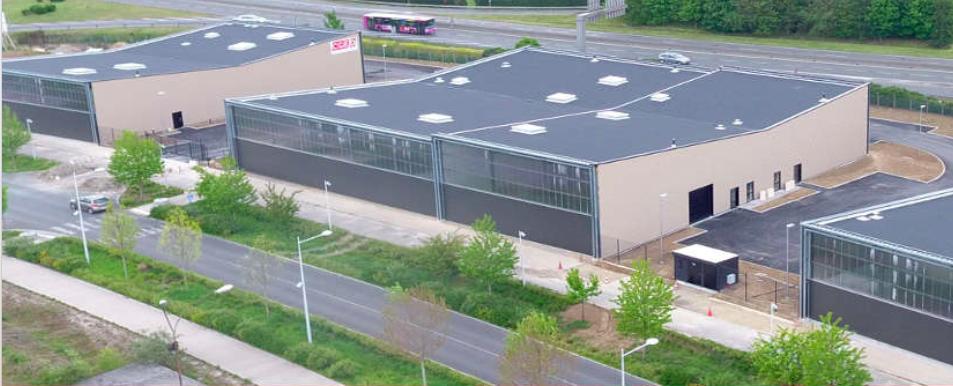 Aux portes de l'Ile-de-France, le site a permis de recréer 1200 emplois depuis la fermeture de l'usine Chausson
